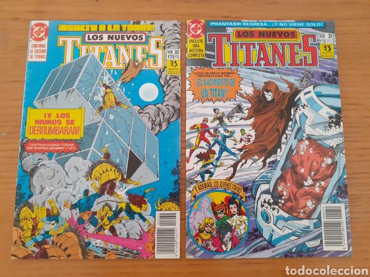 LOS NUEVOS TITANES. N⁰S 32 Y 39. (Tebeos y Comics - Zinco - Nuevos Titanes)
