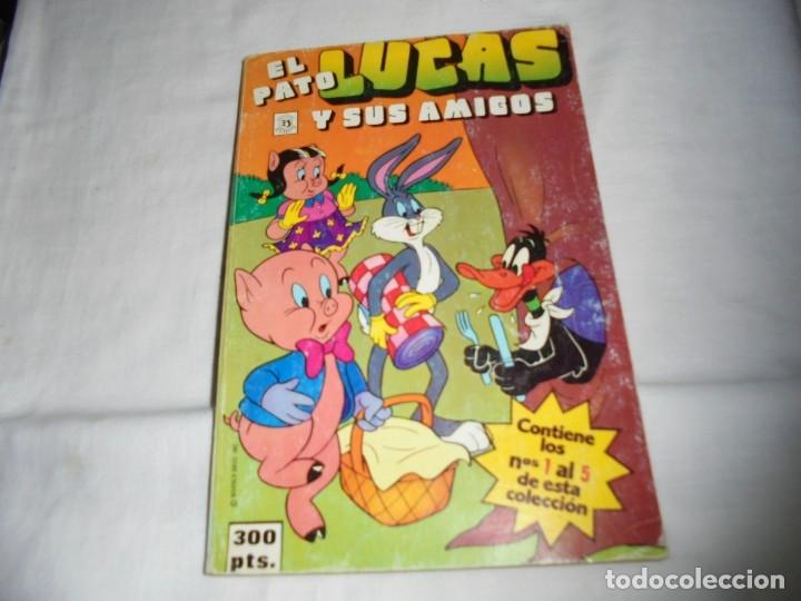 EL PATO LUCAS Y SUS AMIGOS Nº 1.RETAPADO CON LOS CINCO PRIMEROS NUMEROS (Tebeos y Comics - Zinco - Retapados)