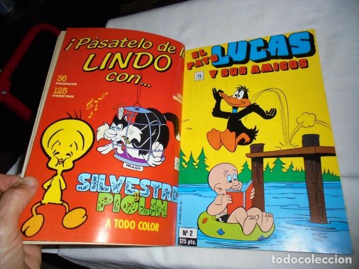 Cómics: EL PATO LUCAS Y SUS AMIGOS Nº 1.RETAPADO CON LOS CINCO PRIMEROS NUMEROS - Foto 4 - 174515593