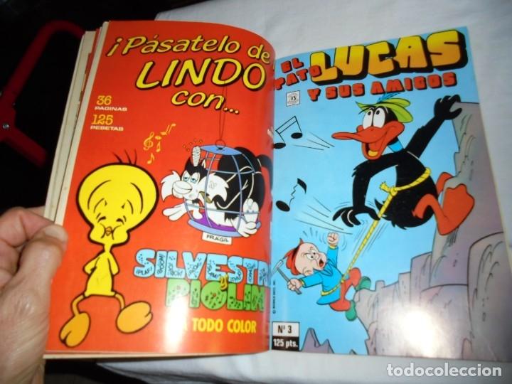 Cómics: EL PATO LUCAS Y SUS AMIGOS Nº 1.RETAPADO CON LOS CINCO PRIMEROS NUMEROS - Foto 6 - 174515593