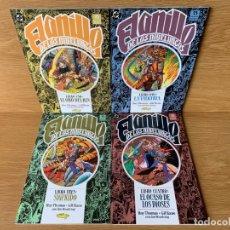 Cómics: EL ANILLO DE LOS NIBELUNGOS,1991- COMPLETA, OBRA DE ARTE DE ROY THOMAS Y GIL KANE. Lote 174958460
