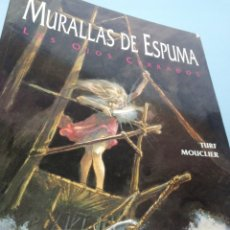 Cómics: MURALLAS DE ESPUMA. LOS OJOS CERRADOS. Lote 175024282