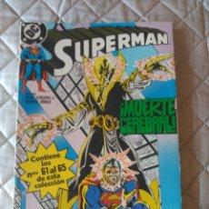 Cómics: SUPERMAN VOL.2 RETAPADO Nº 21 (Nº 61 AL 65) ZINCO. Lote 175142358