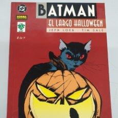Comics: BATMAN : EL LARGO HALLOWEEN Nº1 / JEPH LOEB - TIM SALE. Lote 175184225