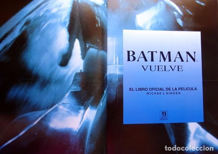 Cómics: BATMAN VUELVE LIBRO OFICIAL DE LA PELÍCULA MICHAEL SINGER - Foto 2 - 175267980