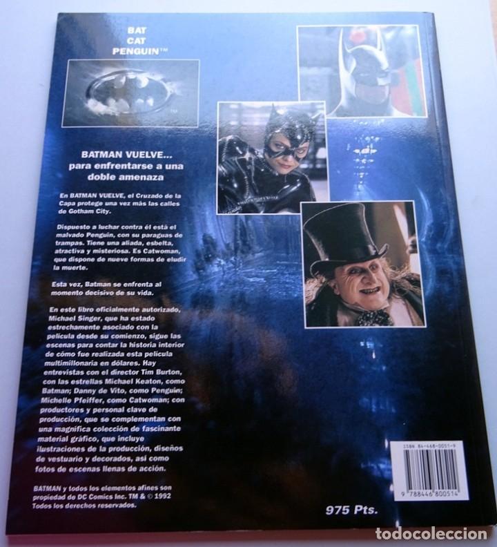 Cómics: BATMAN VUELVE LIBRO OFICIAL DE LA PELÍCULA MICHAEL SINGER - Foto 4 - 175267980