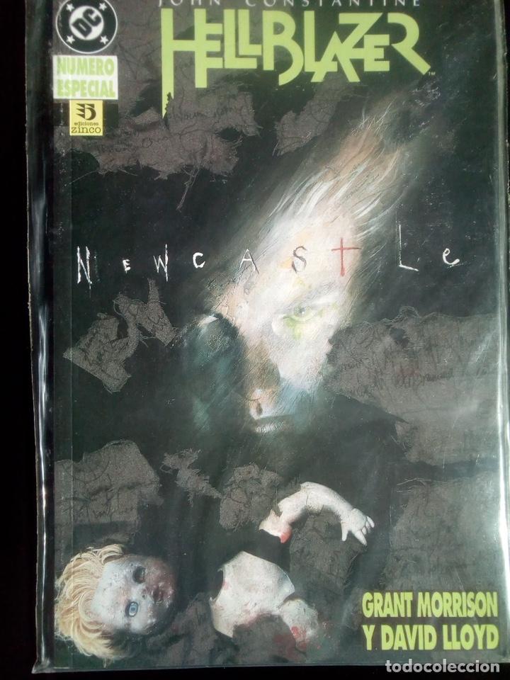 HELLBLAZER NEWCASTLE GRANT MORRISON Y DAVID LLOYD EDICIONES ZINCO (Tebeos y Comics - Zinco - Prestiges y Tomos)