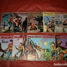 Cómics: ZAGOR / NÚMEROS DEL 1 AL 10 / EDICIONES ZINCO 1982-1983. Lote 175336100