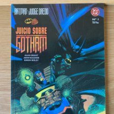 Cómics: BATMAN / JUDGE DREDD : JUICIO SOBRE GOTHAM - ALAN GRANT - SIMON BISLEY/ DC - ZINCO. Lote 175415958