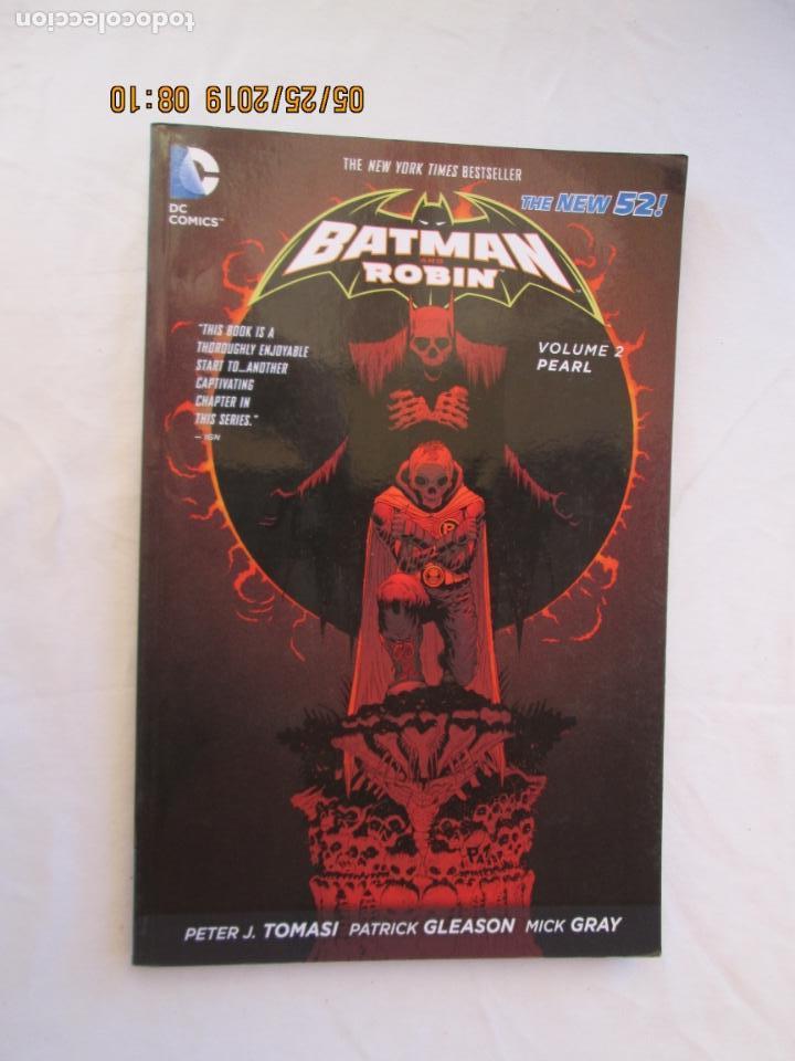 BATMAN AND ROBIN - PEARL VOLUME 2 DC COMICS THE NEW 52 (Tebeos y Comics - Zinco - Batman)