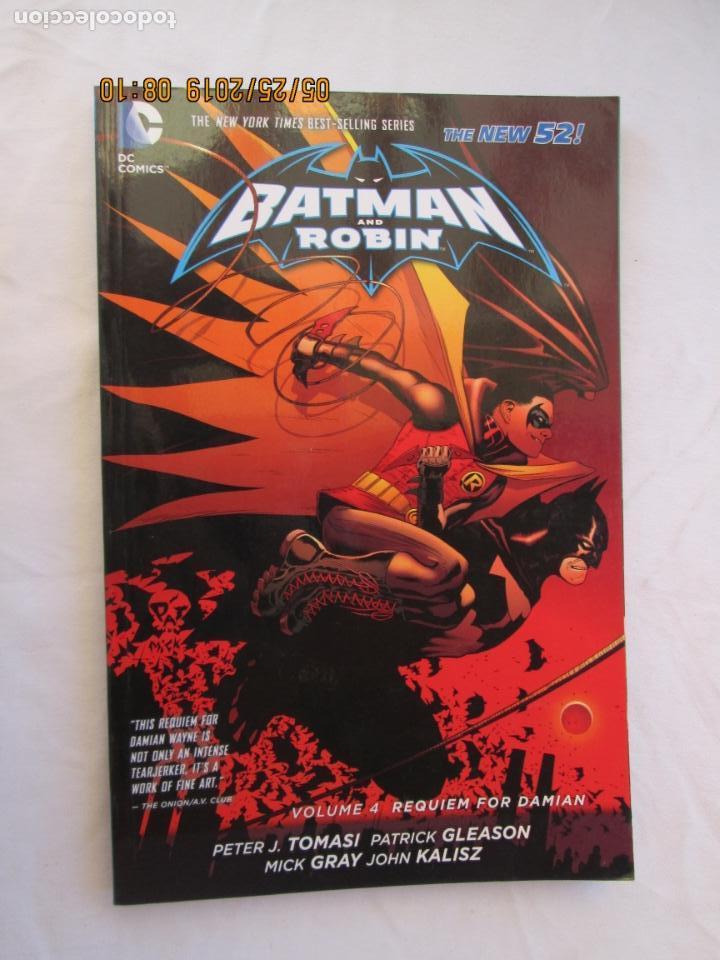 BATMAN AND ROBIN -REQUIEM FOR DAMIAN VOLUME 4 DC COMICS THE NEW 52 (Tebeos y Comics - Zinco - Batman)