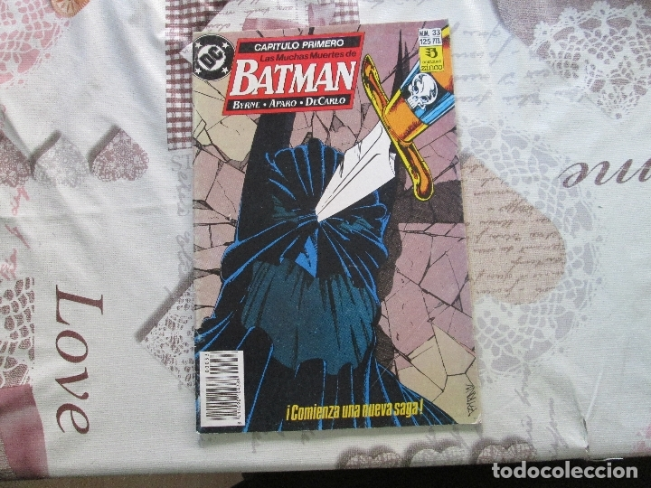 LAS MUCHAS MUERTES DE BATMAN Nº 33 (Tebeos y Comics - Zinco - Batman)