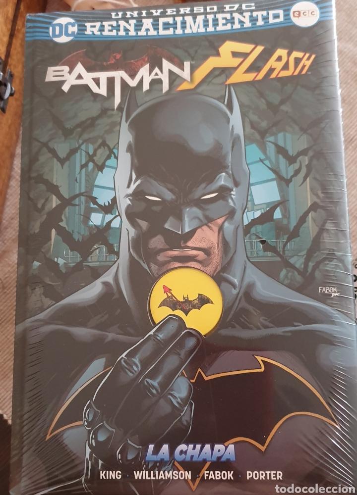 BATMAN FLASH LA CHAPA PRECINTADO, TOTALMENTE NUEVO (Tebeos y Comics - Zinco - Batman)