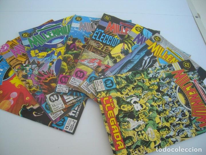 MILLENNIUM COMPLETA 1 AL 8 (Tebeos y Comics - Zinco - Millenium)