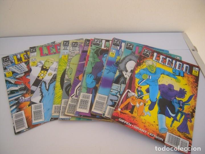 LEGION 91 COMPLETA DEL 1 AL 15 (Tebeos y Comics - Zinco - Millenium)