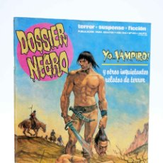 Cómics: DOSSIER NEGRO 205. YO… VAMPIRO (VVAA) ZINCO, 1987. OFRT. Lote 223053380