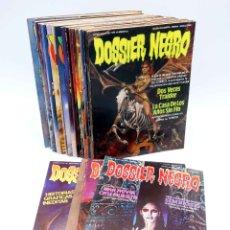 Cómics: DOSSIER NEGRO. LOTE DE 27 (VVAA) ZINCO / GIESA, 1983. VER LISTA. OFRT. Lote 257383070