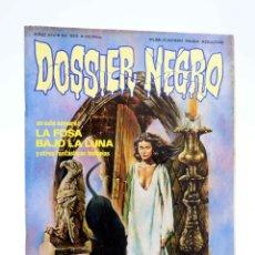 Cómics: DOSSIER NEGRO 163. LA FOSA BAJO LA LUNA (VVAA) GIESA, 1983. OFRT. Lote 183537811