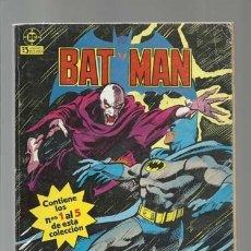 Cómics: BATMAN RETAPADO 1 AL 5, 1984, ZINCO, . Lote 176965798