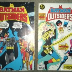 Comics: BATMAN Y LOS OUTSIDERS (26 NÚMEROS COMPLETA) + ESPECIAL VERANO. Lote 177004328