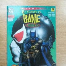 Cómics: BATMAN EL REGRESO DE BANE. Lote 177084834