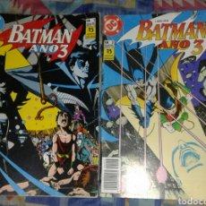 Cómics: BATMAN AÑO 3: COLECCIÓN COMPLETA EN 2 NUMEROS: ZINCO. Lote 177529168