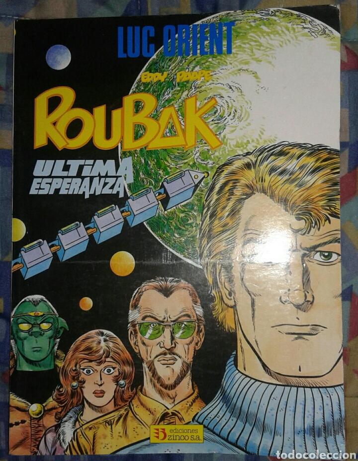 LUCK OBIENT: ROUBAK: ÚLTIMA ESPERANZA: ZINCO (Tebeos y Comics - Zinco - Prestiges y Tomos)