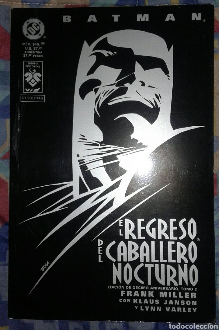 EL REGRESO DEL CABALLERO NOCTURNO: TOMO 2: EDICION DECIMO ANIVERSARIO: FRANK MILLER: EDITORIAL VID (Tebeos y Comics - Zinco - Prestiges y Tomos)