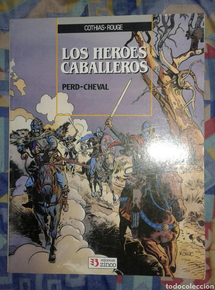 LOS HÉROES CABALLEROS: ZINCO (Tebeos y Comics - Zinco - Prestiges y Tomos)