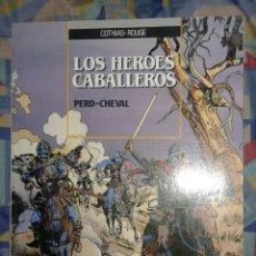 Cómics: LOS HÉROES CABALLEROS: ZINCO. Lote 177529493