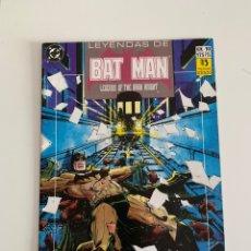 Cómics: LEYENDAS DE BAT MAN. N 10. BUEN ESTADO. Lote 177588067
