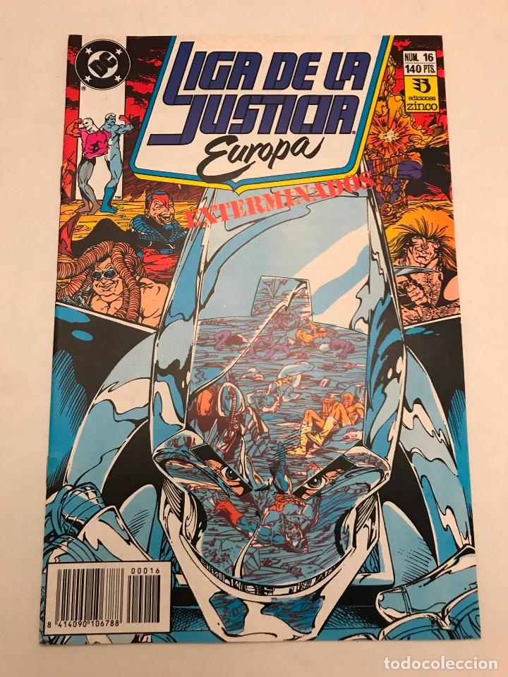 LIGA DE LA JUSTICIA EUROPA Nº 16. ZINCO 1989 (Tebeos y Comics - Zinco - Liga de la Justicia)