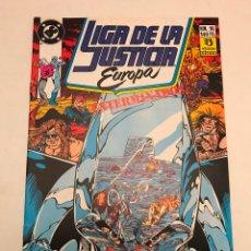 Cómics: LIGA DE LA JUSTICIA EUROPA Nº 16. ZINCO 1989. Lote 177645603