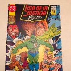 Cómics: LIGA DE LA JUSTICIA EUROPA Nº 35. ZINCO 1989. Lote 177646065