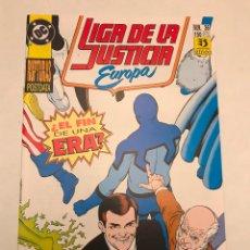 Cómics: LIGA DE LA JUSTICIA EUROPA Nº 36 ULTIMO NUMERO. ZINCO 1989. Lote 177646087