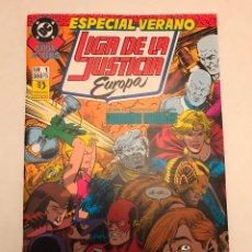 Cómics: LIGA DE LA JUSTICIA EUROPA EXTRA ESPECIAL VERANO. ZINCO 1990. Lote 177646162