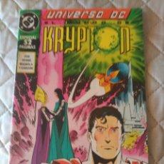 Cómics: UNIVERSO DC Nº 2 EL MUNDO DE KRIPTON ZINCO. Lote 177655107