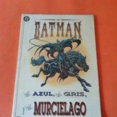 Cómics: BATMAN . EL AZUL, EL GRIS Y EL MURCIELAGO. NOVELA GRAFICA. ZINCO.. Lote 177775927
