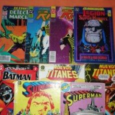 Cómics: COMICS DC . LOTE VARIADO DE 8 COMICS . GRAPA. VER FOTOS.. Lote 178136904
