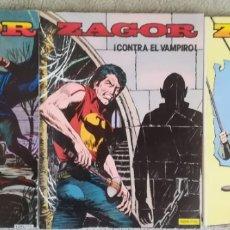 Cómics: ZAGOR 2,3,4. Lote 178275977