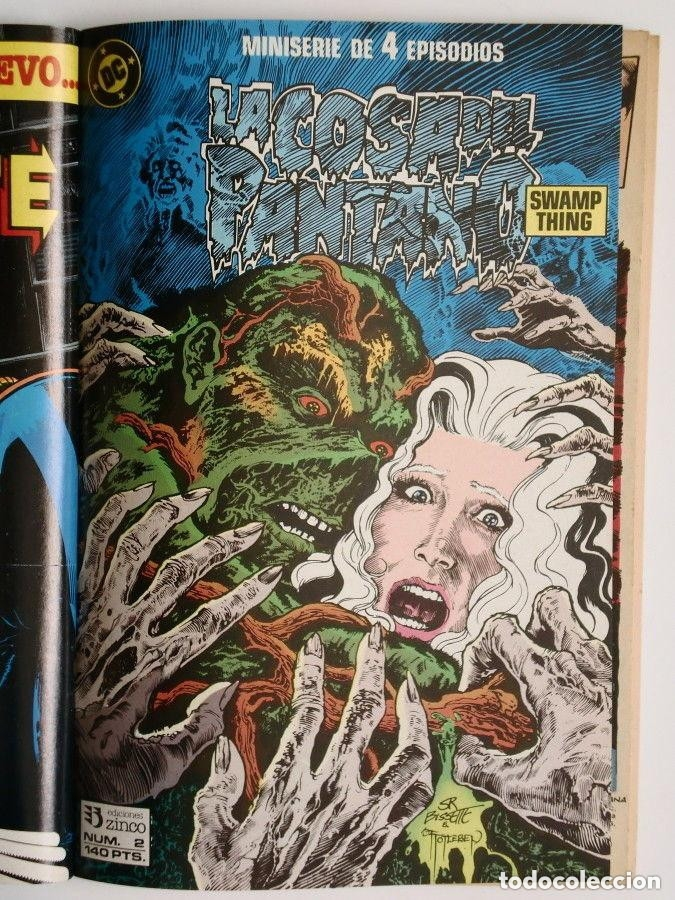 Cómics: LA COSA DEL PANTANO miniserie 4 números completa (SWAMP THING)Allan Moore, Stephen Bissette,Totleben - Foto 3 - 178291060