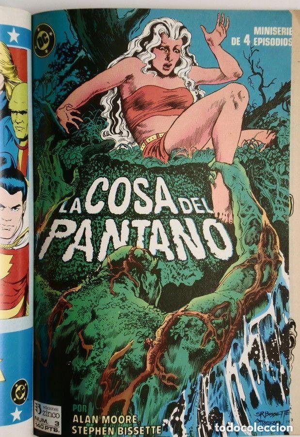 Cómics: LA COSA DEL PANTANO miniserie 4 números completa (SWAMP THING)Allan Moore, Stephen Bissette,Totleben - Foto 4 - 178291060