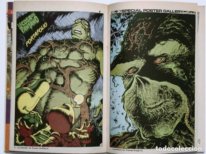 Cómics: LA COSA DEL PANTANO miniserie 4 números completa (SWAMP THING)Allan Moore, Stephen Bissette,Totleben - Foto 6 - 178291060