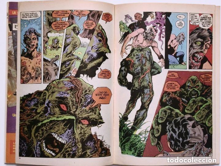 Cómics: LA COSA DEL PANTANO miniserie 4 números completa (SWAMP THING)Allan Moore, Stephen Bissette,Totleben - Foto 7 - 178291060
