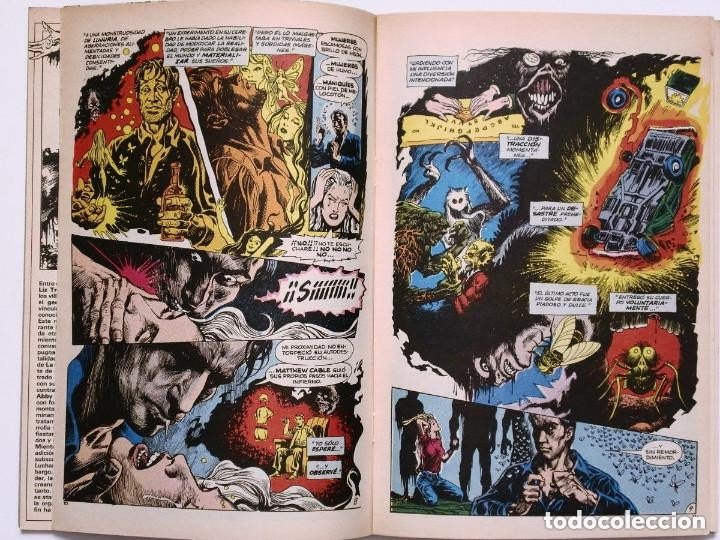Cómics: LA COSA DEL PANTANO miniserie 4 números completa (SWAMP THING)Allan Moore, Stephen Bissette,Totleben - Foto 8 - 178291060
