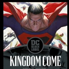 Cómics: KINGDOM COME - ECC / DC BLACK LABEL / TAPA DURA / MARK WAID & ALEX ROSS. Lote 207006841