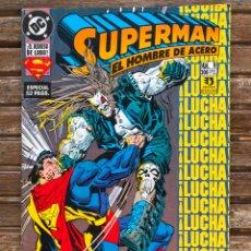 Cómics: SUPERMAN EL HOMBRE DE ACERO Nº 9 (DE 14). AUT. RODIER, GUICE Y KARL KESEL. ED.ZINCO, AÑO 1994.. Lote 178374733