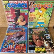Comics: REVISTA COMICS SCENE - COMPLETA 19 NÚMEROS IMPECABLES - 1990. Lote 178577991