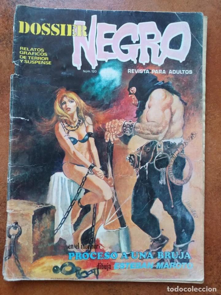 DOSSIER NEGRO NUM 120 (Tebeos y Comics - Zinco - Otros)