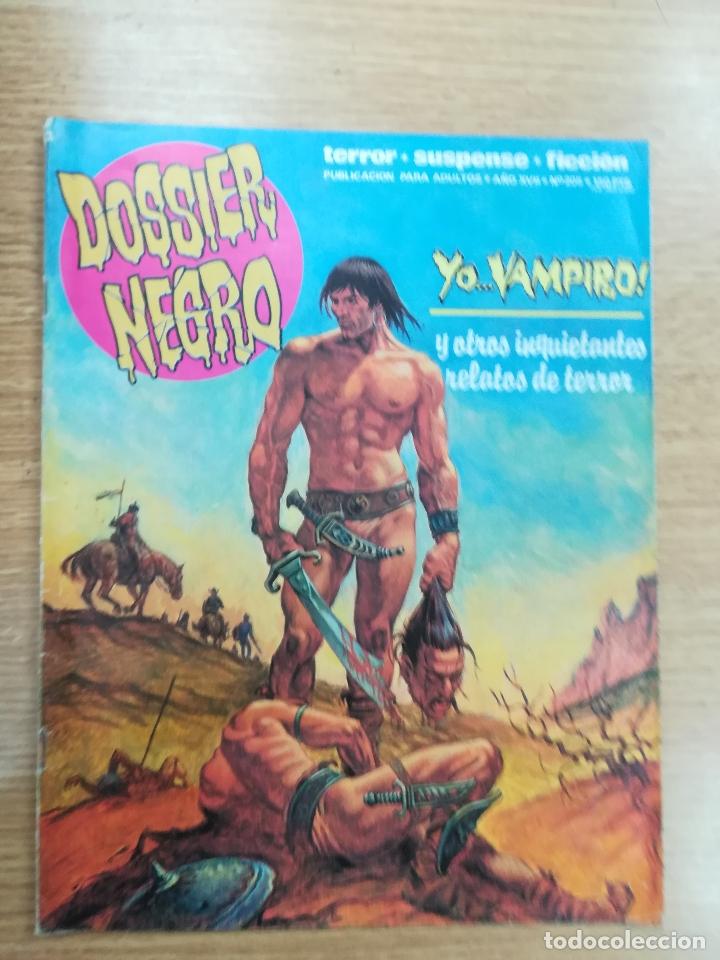 DOSSIER NEGRO #205 (Tebeos y Comics - Zinco - Otros)